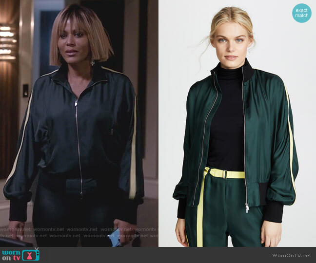 Silk Track Jacket by Robert Rodriguez worn by Giselle (Nicole Ari Parker) on Empire