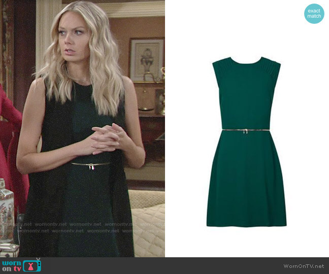 Sandro Ravissante Dress worn by Abby Newman (Melissa Ordway) on The Young & the Restless