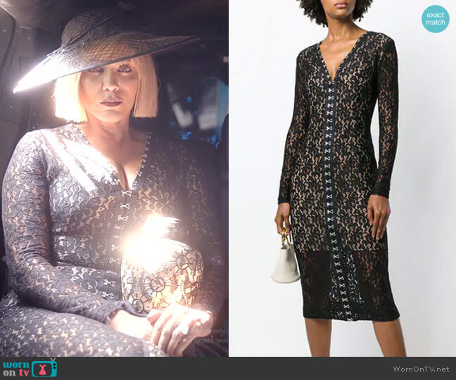 Lace Fitted Midi Dress by Stella McCartney worn by Nicole Ari Parker on Empire