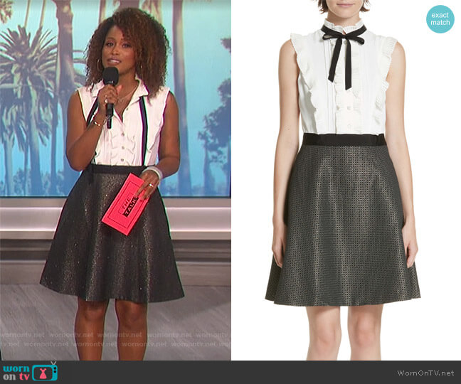 Karoll Skater Dress by Ted Baker worn by Eve  on The Talk
