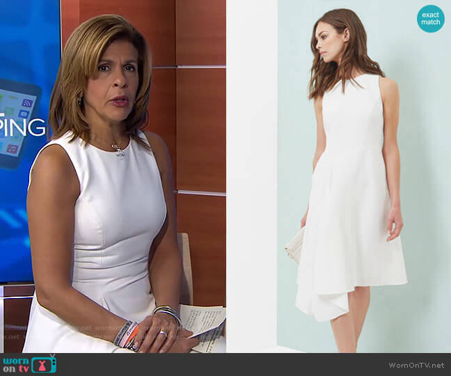 Arola Dress by Ted Baker worn by Hoda Kotb  on Today