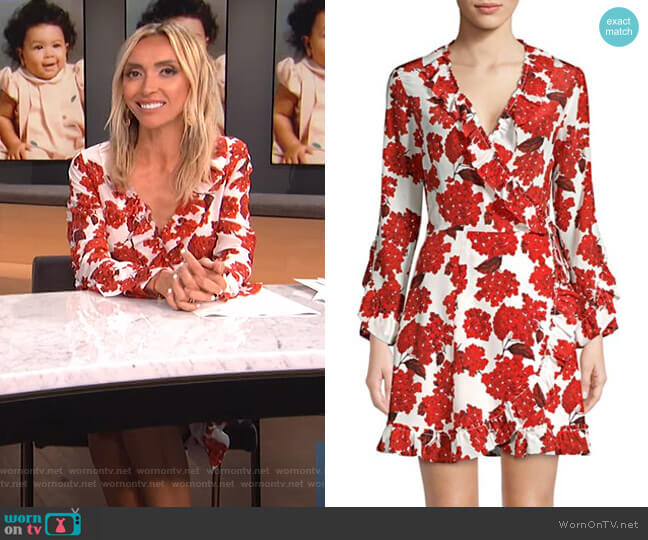 Hortensia Floral Dress by The Kooples worn by Giuliana Rancic  on E! News