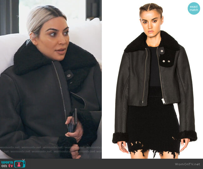 Flight Coat by Yeezy worn by Kim Kardashian  on Keeping Up with the Kardashians
