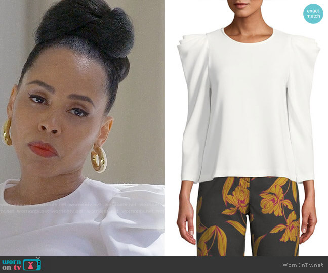 ALC Farren Top worn by Amirah Vann on HTGAWM