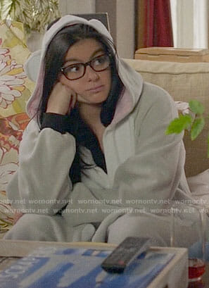 Alex's koala onesie on Modern Family