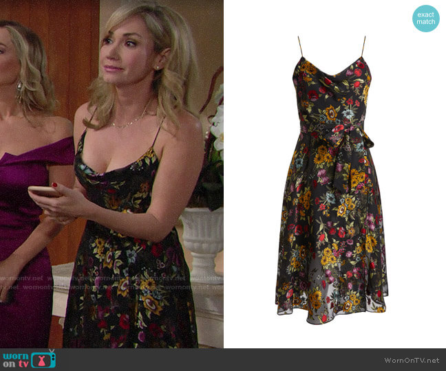 Alice + Olivia Heather Dress worn by Bridget on The Bold and the Beautiful