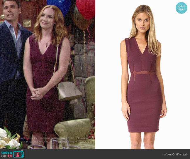 Bailey 44 Real Deal Dress worn by Camryn Grimes on The Young & the Restless