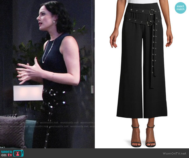 Cinq a Sept Jessi Pants worn by Cait Fairbanks on The Young & the Restless