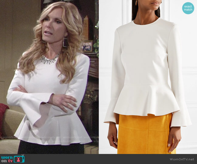 Elizabeth and James Ruthe Top worn by Lauren Fenmore (Tracey Bregman) on The Young & the Restless