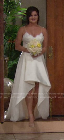Katie's wedding dress on The Bold and the Beautiful
