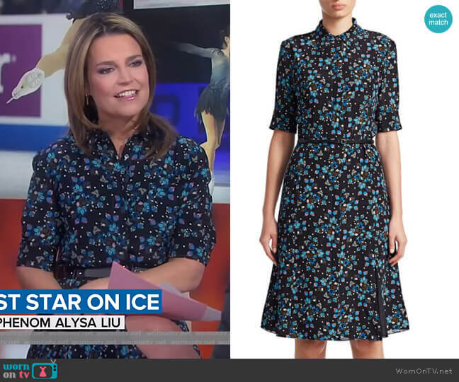Kieran Dress by Altuzarra worn by Savannah Guthrie  on Today