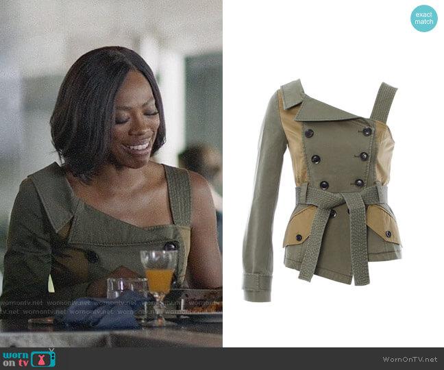 Marissa Webb Kendrick Jacket worn by Yvonne Orji on Insecure