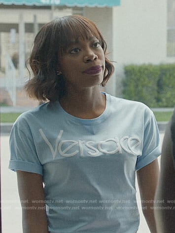 Molly's Versace tee on Insecure