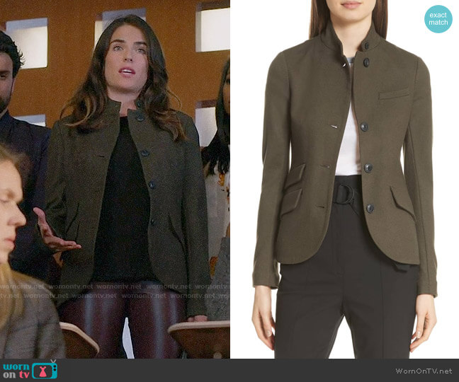 Rag and Bone Slade Blazer worn by Laurel Castillo (Karla Souza) on HTGAWM
