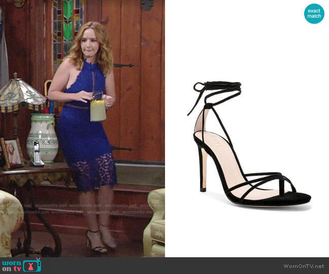 Raye Emerson Heel worn by Mariah Copeland (Camryn Grimes) on The Young & the Restless