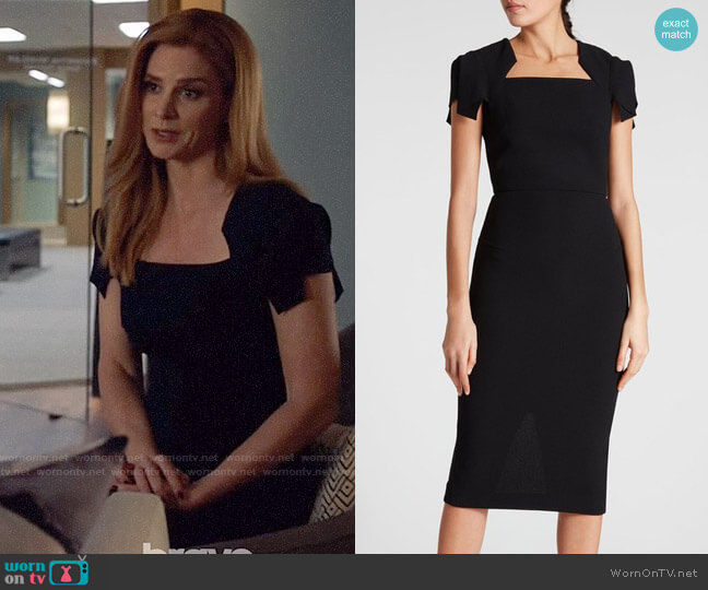Roland Mouret Royston Dress worn by Donna Paulsen (Sarah Rafferty) on Suits