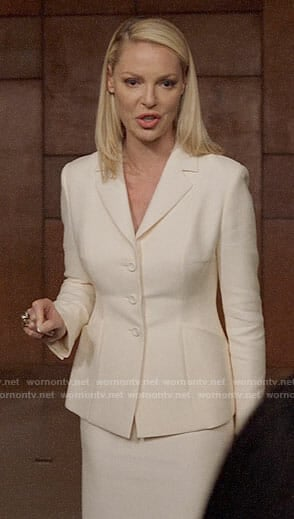 Samantha's white jacket on Suits