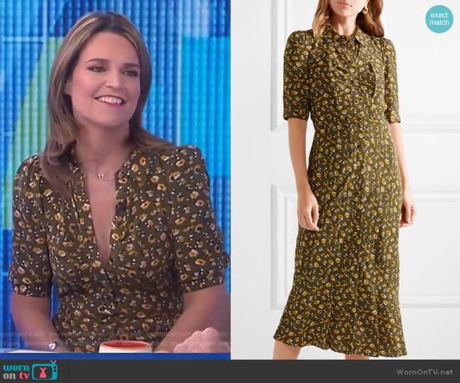 Pike Dress by Veronica Beard worn by Savannah Guthrie on Today