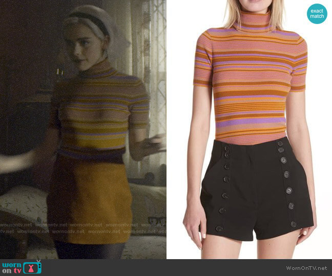 ALC Doninico Sweater worn by Sabrina Spellman (Kiernan Shipka) on Chilling Adventures of Sabrina