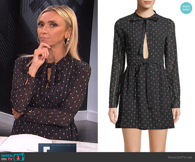 Leila Dress by Alexis worn by Giuliana Rancic  on E! News