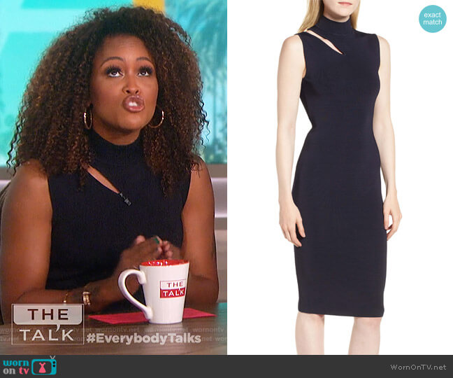 Debate Sheath Dress by Bailey 44 worn by Eve on The Talk