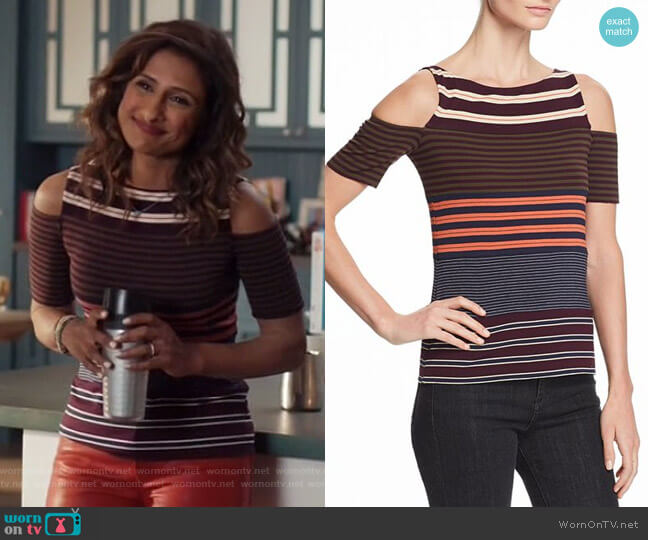 Garam Masala Top by Bailey 44 worn by Sarayu Blue on I Feel Bad