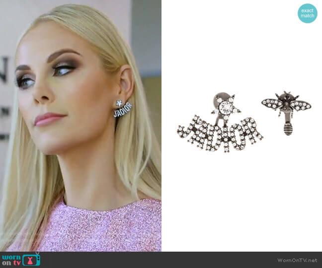 J'Adior Earrings by Christian Dior worn by Kameron Westcott (Kameron Westcott) on The Real Housewives of Dallas