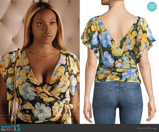 Gussie Top by Club Monaco worn by Cotton (Amiyah Scott) on Star