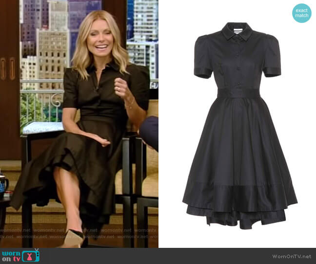 Poplin Shirt Dress by Co worn by Kelly Ripa (Kelly Ripa) on Live with Kelly & Ryan