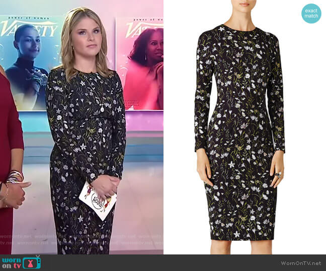 Prairie Dress by Cynthia Rowley worn by Jenna Bush Hager on Today