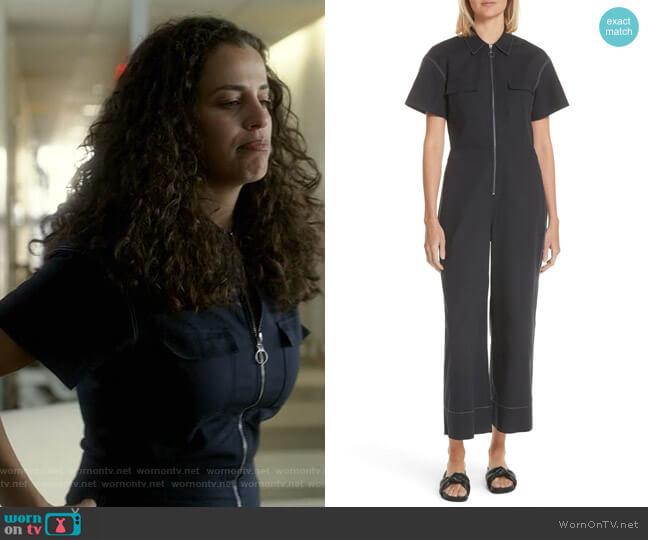 Morrison Jumpsuit by Elizabeth and James worn by Grace Stone (Athena Karkanis) on Manifest