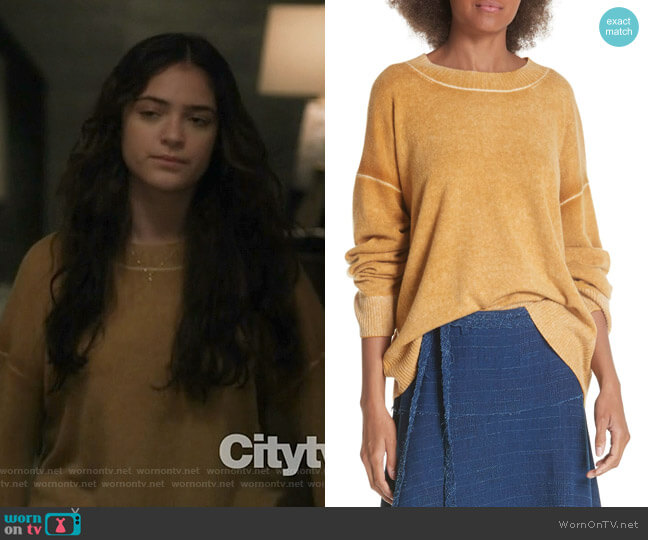 Oliver Sweater by Elizabeth and James worn by Olive Stone (Luna Blaise) on Manifest