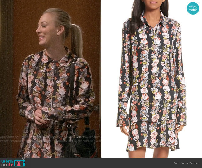 Equipment Daphne Dress worn by Penny Hofstadter (Kaley Cuoco) on The Big Bang Theory