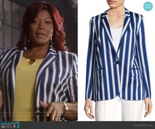 Cabana Balzer by Escada worn by Queen Latifah on Star