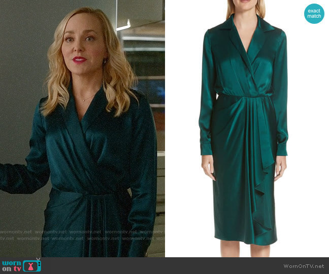 Marissa's green dress on Bull