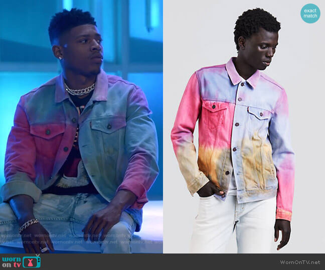 Trucker Jacket by Levi's worn by Bryshere Y. Gray on Empire
