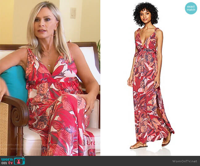 Native Soul Womens Long Dress by Maaji worn by Tamra Judge on The Real Housewives of Orange County