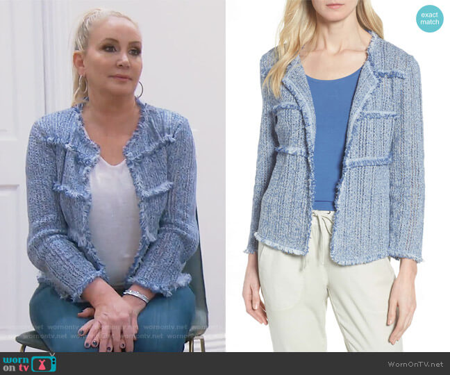 Atlas Jacket by Nic + Zoe worn by Shannon Beador on The Real Housewives of Orange County