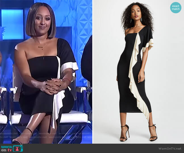 Veronica Dress by Rachel Pally worn by Tamera Mowry  on The Real