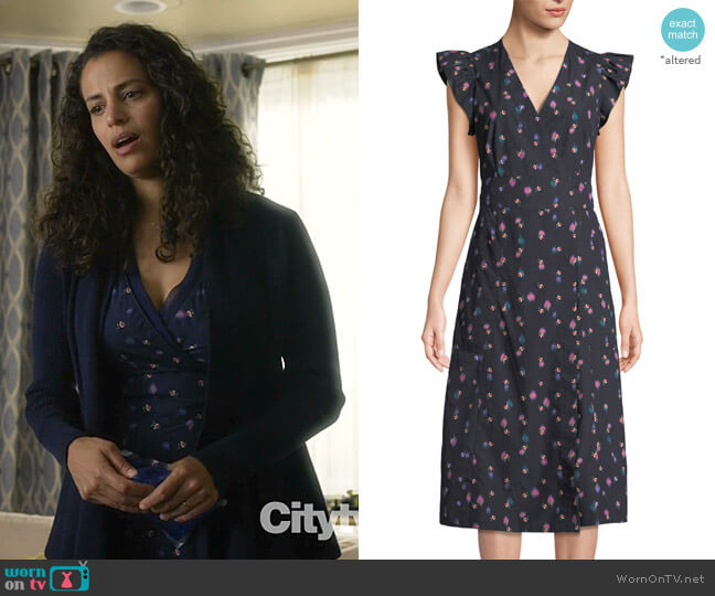 Farren Dress by Rebecca Taylor worn by Grace Stone (Athena Karkanis) on Manifest