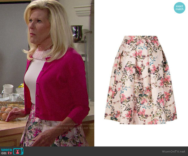 Ted Baker Jirily Skirt worn by Pamela Douglas (Alley Mills) on The Bold & the Beautiful