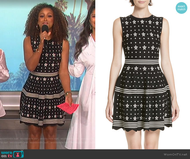 5bb0c08650f96a Mariae Star Dress by Ted Baker worn by Eve (Eve) on The Talk