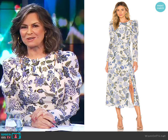 Valentina Dress by Thurley worn by Lisa Wilkinson  on The Project