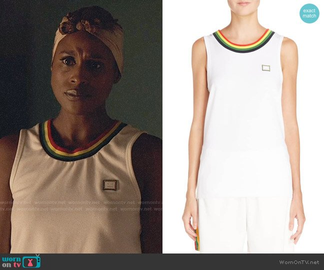 Acne Studios Nast Tank worn by Issa Rae on Insecure