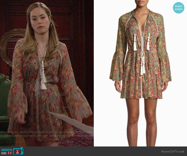 Alexis Cicely Dress worn by Hope Logan (Annika Noelle) on The Bold & the Beautiful