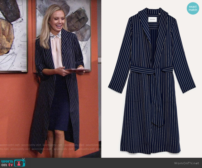 Babaton Kahlo Jacket worn by Abby Newman (Melissa Ordway) on The Young & the Restless