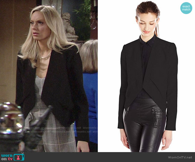 Bcbgmaxazria Lloyd Blazer worn by Abby Newman (Melissa Ordway) on The Young & the Restless