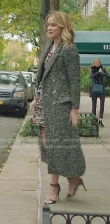 Beck's long tweed coat on YOU