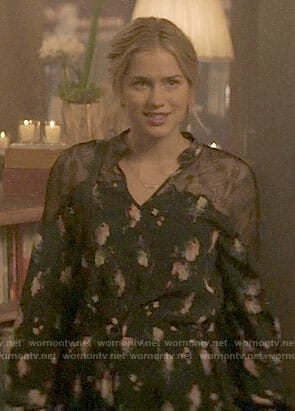Beck's floral dress on YOU