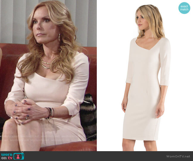 Black Halo Derek Dress worn by Lauren Fenmore (Tracey Bregman) on The Young & the Restless